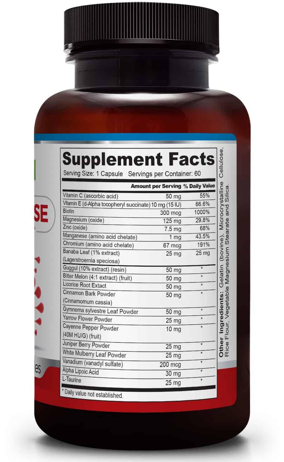 Suplementos y Vitaminas de Calidad Meta Glucose